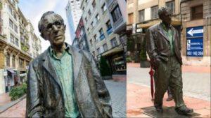 Statue of Woody Allen