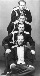 The sons of Alexander II and Maria Alexandrovna, 1856