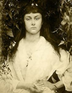 Alice Liddell. Photographer Julia Margaret Cameron, 1872