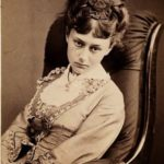 Alice Liddell in her youth. June 25, 1870