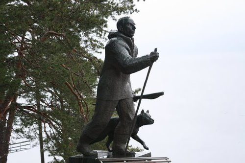 Monument to Amundsen