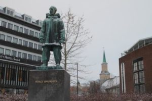 Monument to Amundsen