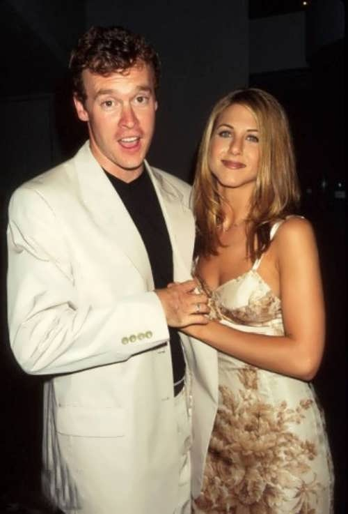 Aniston and Tate Donovan