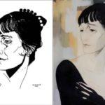 Yuri Annenkov. Portrait of Anna Akhmatova, 1921
