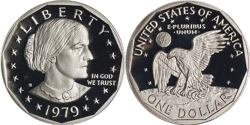 Coin dedicated to Anthony