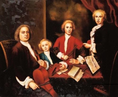 Johann Sebastian and his sons