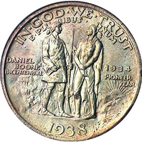 Coin dedicated to Boone