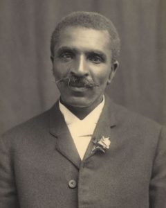 George Washington Carver - American botanist, 1910