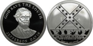 Coin dedicated to Davis