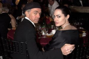 Angelina and her second husband Billy Bob Thornton