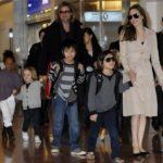 Jolie, Pitt and the children