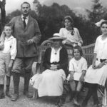 Jung and his family, 1917