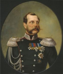 N.A. Lavrov. Emperor Liberator - Alexander II, 1868