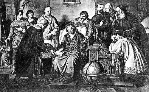 Lesser. The death of Copernicus