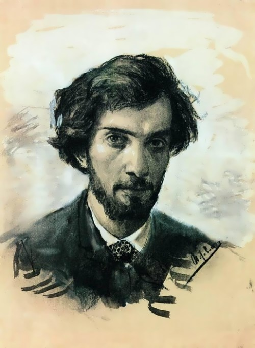 Isaac Levitan - master of landscapes. Self-portrait, 1880