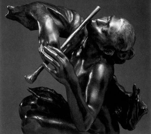 The flute player. The little siren, 1904