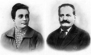 Parents of Mussolini