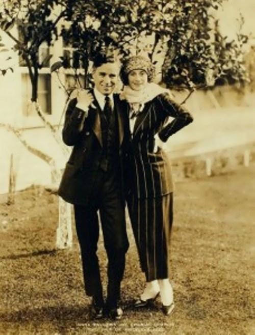 Charlie Chaplin was a great admirer of Anna Pavlova