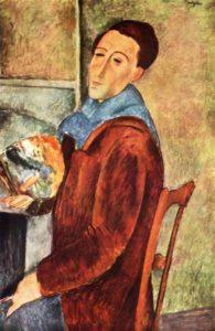 Amedeo Modigliani, Self-Portrait