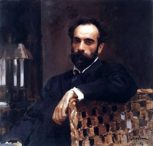Valentin Serov. Portrait of Isaac Levitan, 1893