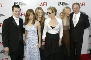 Meryl and her family