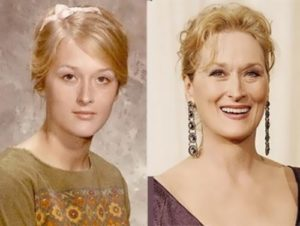 Meryl in her youth