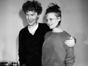 Vivienne and Malcolm McLaren