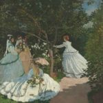 The women in the Garden, 1867