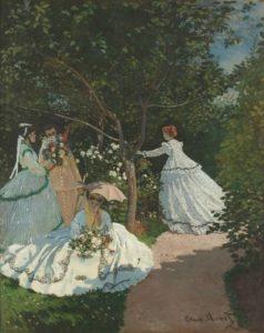 The women in the Garden, 1867