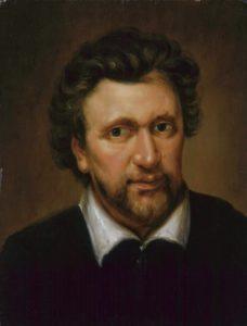Abraham van Blyenberch. Portrait of Benjamin Jonson