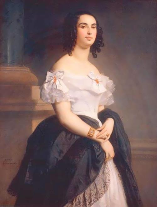 Adele Foucher, wife of Hugo