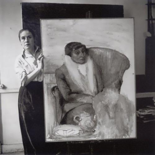 Maar and her portrait of Alice B. 1946
