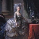 Marie Antoinette by Vigee Le Brun