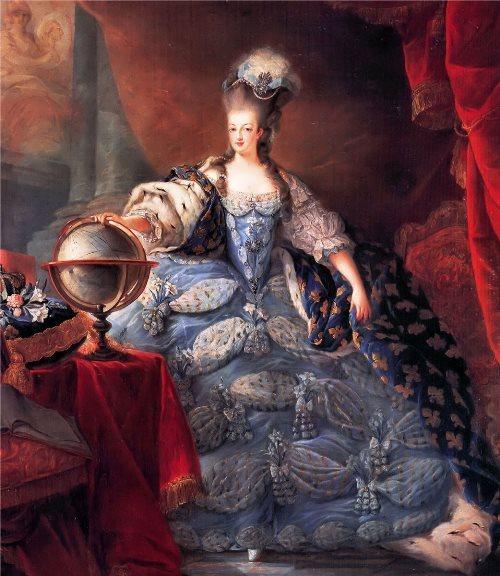 Marie Antoinette, by Jean-Baptiste Gautier Dagoty