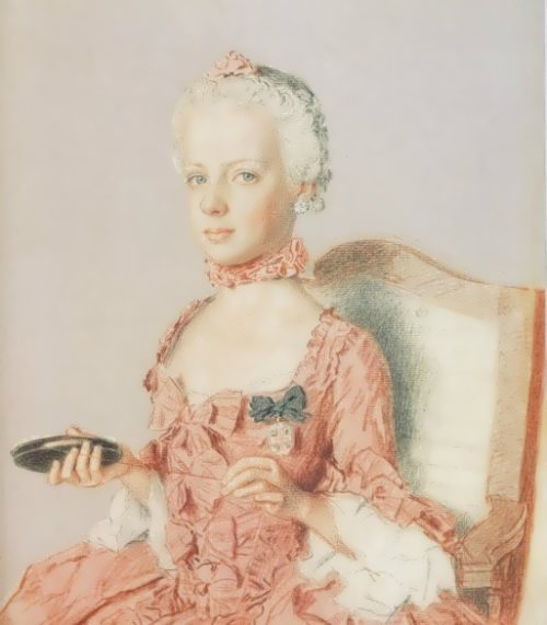 Portrait by Jean-Etienne Liotard, 1762
