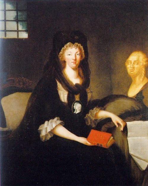 Marie Antoinette mourning
