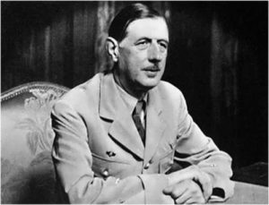 Charles de Gaulle - French president