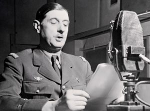 Charles de Gaulle -French statesman