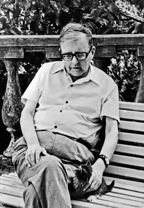 Shostakovich - Russian composer and pianist