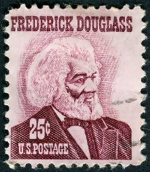 Postage Stamp dedicated to Frederick Douglass
