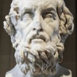 Homer - major figure in ancient Greek literature