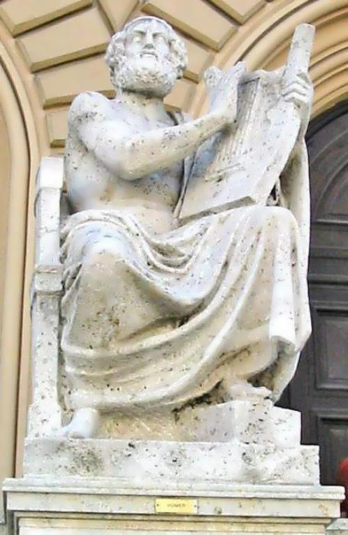 Homer - legendary ancient Greek poet