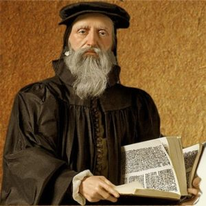 Calvin - French-Swiss Christian theologian