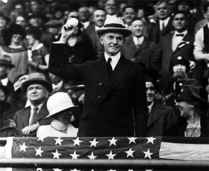 John Calvin Coolidge - the thirtieth president of the United States