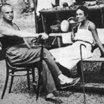 Lilya and Mayakovsky in Crimea, 1926