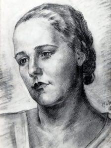 Nina Shostakovich (Varzar), 1929. Picture by I.V. Varzar