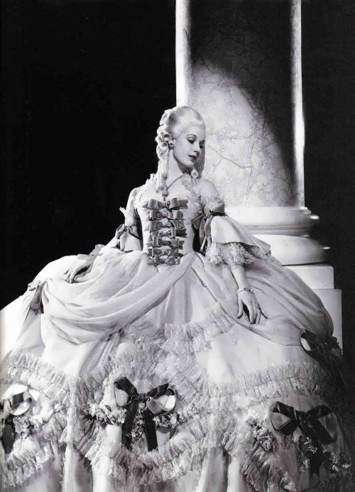 Norma Shearer as Marie Antoinette, 1938