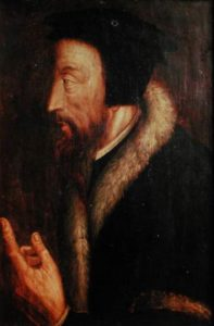 Calvin - French religious thinker