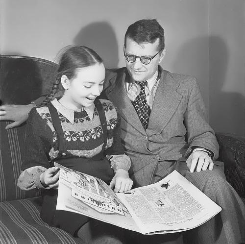 Dmitri and his daughter