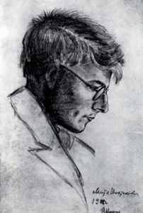 Shostakovich. Picture by I.V. Varzar. 1928